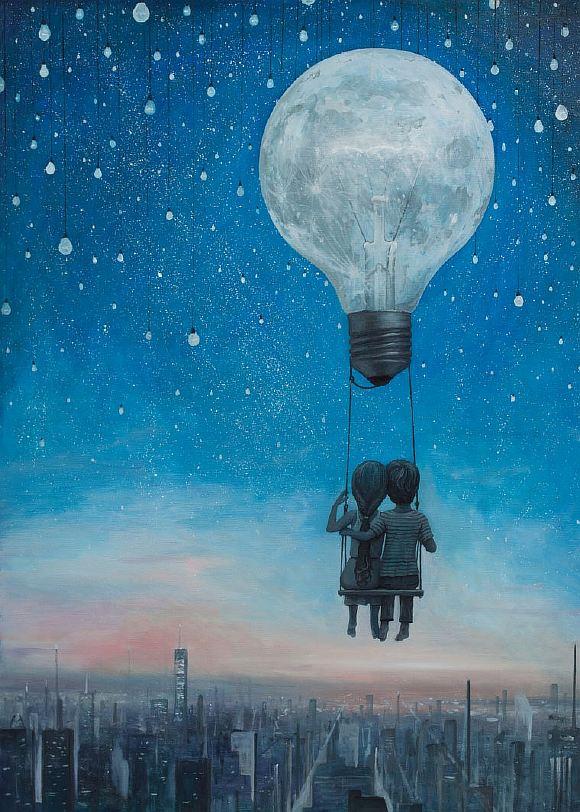 Картинки сюрреализм любовь