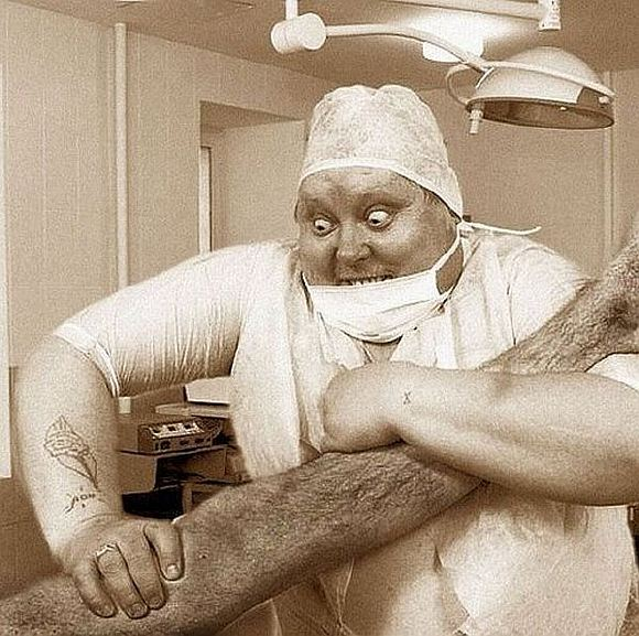 Толстый врач картинки