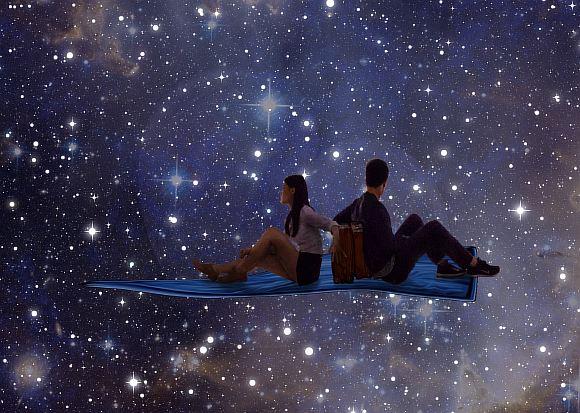 космос для двоих картинки светомаскировки