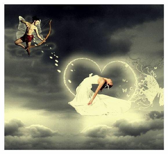 стрела любви фото или любая ненужная